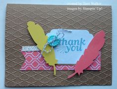 Everyday Occasions Card Kit - using the Fancy Fan folder (on sale!) to add a unique touch to this card.