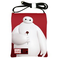 BIG HERO 6 MOVIE GENUINE LEATHER OUTER LAYER SHOULDER SLING BAG ONLY $22.99.  Many other BIG HERO 6 items available at the link below: http://www.blujay.com/?page=profile&profile_username=officer1963&catc=89010000