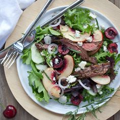 Balsamic Steak Salad - main course salad?