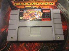 Street Fighter II Turbo (Super Nintendo, 1993) Free Shipping