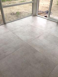 Betonlook vloertegels 80x80 cm Unicom starker