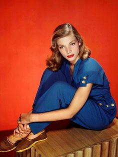 """When everything happens to you when you're so young, you're very lucky, but by the same token, you're never going to have that same feeling again. The first time anything happens to you - your first love, your first success - the second one is never the same."" - Lauren Bacall"