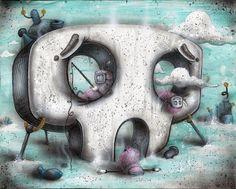 Channel Zero by Chris Brett, via Behance