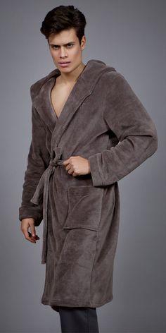 Men's robe Polar fleece 1759 Polar Fleece, Pyjamas, Luxury, Men, Collection, Fashion, Dress, Moda, Fashion Styles