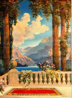 "R. Atkinson Fox, ""Dreamy Paradise"" > wish I could recreate this view..."