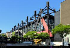 The architecture building at the Politecnico di Milano, Leonardo da Vinci Campus. My University.