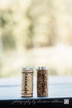 Winery Wedding   Rings   ©Christina Ahlheim