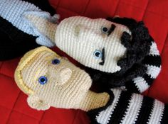 crochet sherlock and watson