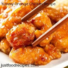Orange Chicken Recipe with Secret Sauce