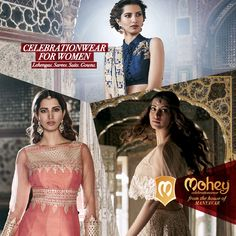 We're going all out to offer a never before variety for #CelebrationWear for #Women #ByManyavar
