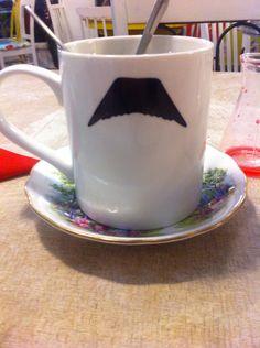 #Mustache mug xxx