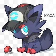 Pokemon Zoroark, Pokemon W, Black Pokemon, Pokemon Memes, Pokemon Fan Art, Pikachu, Pokemon Champions, Anime Devil, Video Game Anime