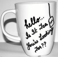 HELLO Lionel Richie Is it Tea You Are Looking For by DreamAndCraft