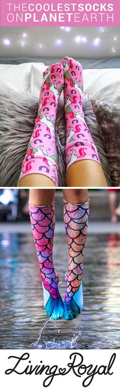 Mermaids and unicorns really do exist! Use promo code 'GET10OFF' for 10% off all items plus $3 shipping on all U.S. orders. Find the perfect pair for you...
