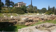 The agora of Athens developed from the 6th century BCE until it was destroyed in the Persian invasion of 480 BCE. Afterwards, the statesman Pericles (l. 495-429 BCE) used funds from the Delian League to restore it as the physical manifestation of the political power of the Athenian Empire. Battle Of Plataea, Home Fountain, History Encyclopedia, House Map, Michigan State University, Chicago Style, Acropolis, City State, Ancient Greece