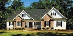 59 Trendy house plans one story 2000 sq ft bonus rooms craftsman style House Plans One Story, Ranch House Plans, Cottage House Plans, Best House Plans, Craftsman House Plans, Small House Plans, Cottage Homes, Craftsman Style, Exterior House Siding