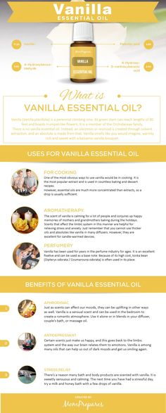 Essential oils are powerful extracts though to have powerful healing properties. Aromatherapy is a holistic method practices to improve the physical, emotional or mental health of patients. Proponents of the oils also recommend their . Cooking With Essential Oils, Essential Oils For Pain, Vanilla Essential Oil, Essential Oil Uses, Vanilla Oil, Natural Living, What Is Vanilla, Calendula Benefits, Coconut Health Benefits