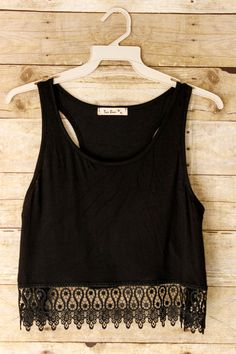 """Hunter"" Crop Top"