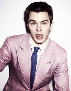 Nicholas Hoult. cant. stop. staring. at. you. ♥