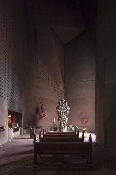 """Experience the """"Brutal Faith"""" of Gottfried Böhm's Pilgrimage Church in Neviges,Courtesy LOBBY Magazine. Image © Laurian Ghinitoiu"""
