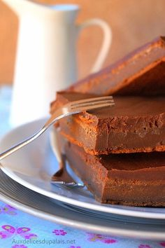 Gâteau au chocolat & mascarpone de Cyril Lignac