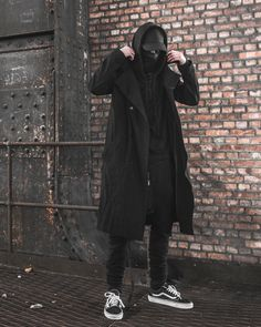 mxdvs: MXDVS for C. by Loredana Pinasco Directed and. Urban Style Outfits Men, Edgy Outfits, Fashion Outfits, Cyberpunk Mode, Cyberpunk Fashion, Urban Street Style, Streetwear Mode, Streetwear Fashion, Dark Fashion
