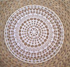 Závěsná dekorace č.1 bílá průměr 25 cm Plates, Tableware, Licence Plates, Dishes, Dinnerware, Plate, Tablewares, Dish, Place Settings