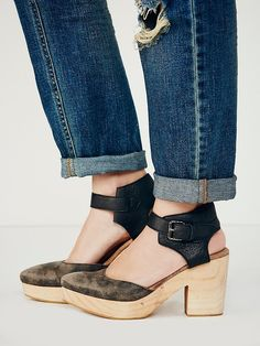 Free People Percy Clog at Free People Clothing Boutique