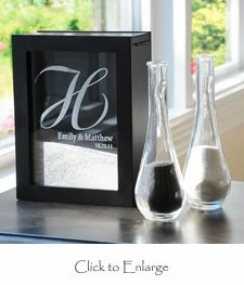 Unity Sand Ceremony Shadow Box for Wedding (or vacations)