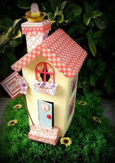 Chipboard House della Doodlebug Design