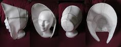 1860s Buckram bonnet tutorial #millinery #judithm #hats