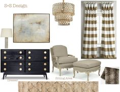 Love the chair and chandilier