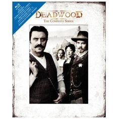 Deadwood HBO The Complete Series (Blu-ray Disc, 2010, 13-Disc Set, DigiBook) NEW #Deadwood