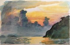Tioman Island Sunset – by Gary Drostle