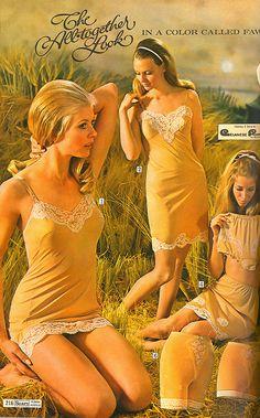 Vintage lingerie -