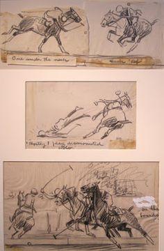 Polo Studies by Paul Brown Horse Drawings, Animal Drawings, Art Drawings, Paul Brown, Sketch Inspiration, Equine Art, Wildlife Art, Horse Art, Animal Design