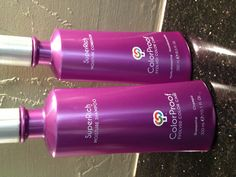 my fav shampoo and conditioner!  Color Proof hair care