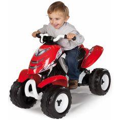ATV electric Smoby X Power rosu - zizi. Quad, Bmw I8, Wood Bike, Lawn Mower, Atv, Outdoor Power Equipment, Electric, Design, Baby Things