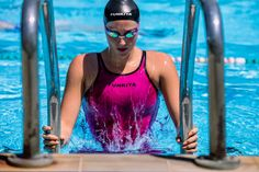 Molly Renshaw wears the Funkita APEX Stealth Performance Suit