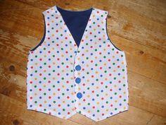 Waistcoat for Comic Relief (pattern by little lizard king)