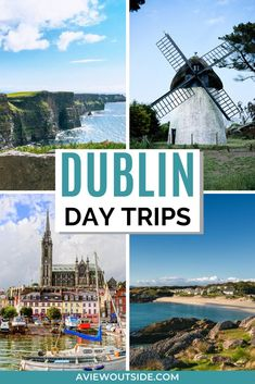 Incredible day trips from Dublin that you need to know about! This guide has lots of day trips you can take from Dublin from The Cliffs of Moher to Belfast plus some hidden gems too! #dublindaytrips #dublintravel #dublinireland #irelandtravel