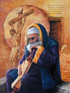 Painting - Nicodemus by John Lautermilch , Christian Artwork, Christian Images, Crucifixion Of Jesus, Bible Love, Jesus Bible, Biblical Art, Jesus Pictures, Holy Week, Bible Stories