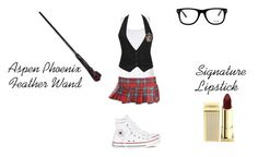 """Day Two Uniform..."" by demonlover2002 ❤ liked on Polyvore featuring Splendid, Forever 21, Converse, Muse and Lipstick Queen"