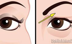Voici comment traiter naturellement les paupières tombantes Here's how to treat drooping eyelids naturally. The results are beautiful Fix your beauty problems Face Mask Recipe Saggy Eyes, Droopy Eyelids, Beauty Secrets, Diy Beauty, Beauty Hacks, Beauty Tips, Natural Cures, Face Care, Home Remedies