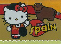 Hello Kitty minipostcard - Ireland | Marja | Flickr | gatinhos ...