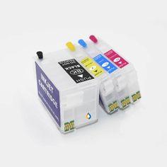 Ink Reset, Black Ink Cartridge, Ink Cartridges, Magenta, Empty, Printer, Fill, Chips, Yellow