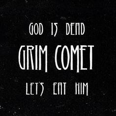"""[CRÍTICAS] GRIM COMET (ESP) """"God is dead, let's eat him"""" CD 2016 (Art gates Records)"""