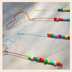 Bubble wands great summer fun