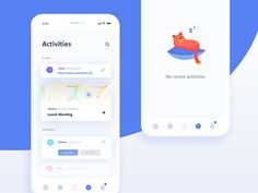 Daily Ui Challenge 047 - Activity Feed by Andrea Hock