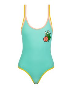 98c10e8041d ALEXIE Stripped One Piece Swimsuit, Cute Bathing Suits, One Piece Swimwear,  Beach Babe